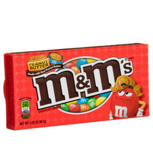 M&M Peanut Butter Box