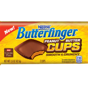 Nestlé Butterfinger Peanut Butter Cups – Smooth & Crunchy