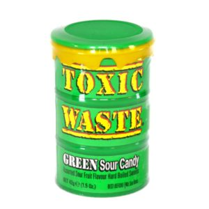 Toxic Waste – Green Sour Candy