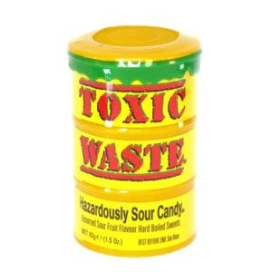 Toxic Waste – Hazardously Sour Candy – Yellow