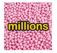 Millions Bubblegum Tube