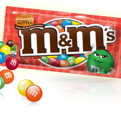 M&M Peanut Butter Chocolate Packet