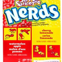 Nerds – Watermelon Apple Melon d'eau Pomme/Cherry Lemonade Cerise Limonade