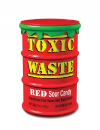 Toxic Waste – Red Sour Candy