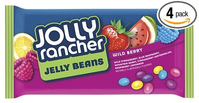 Jolly Ranchers Jelly Beans Wild Berry Flavour (396g)