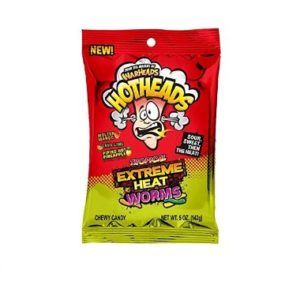 Warheads Hotheads Tropical Extreme Heat Worms (142g)
