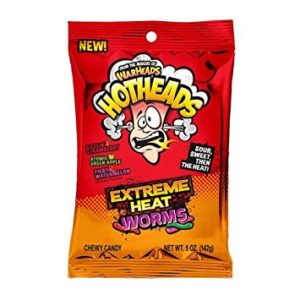 Warheads Hotheads Extreme Heat Worms(142g)