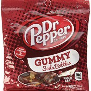 Dr Pepper Gummy Soda Bottles (128g)