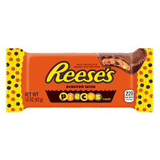 Reese's Pieces Stuffed with Peanut Butter Candy(42g)