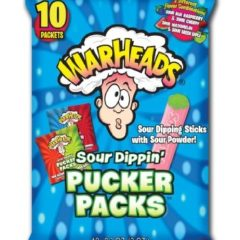 Warheads Sour Dippin' Pucker Packs(84g)