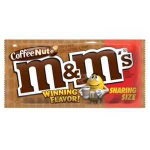 M&M Coffee Nut Sharing Size 3.27oz (92.7g)