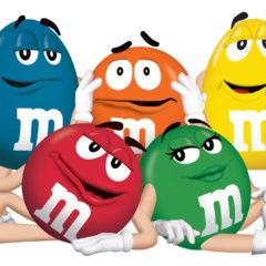 M&M's White Chocolate Candies 42.5g