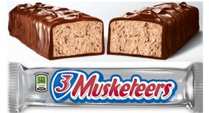 3 Musketeers (54.4g)
