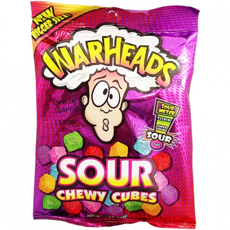 warheads sour chewy cubes 5oz 141g   here for a good deal