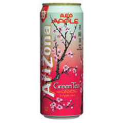 Ari Zona Green Tea with Ginseng&Apple Juice(680ml)