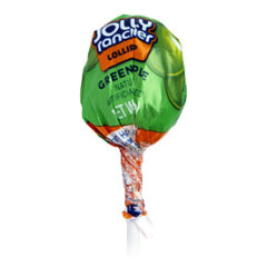 Jolly Rancher Apple Lollipop
