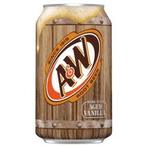 A&W Root Beer Made with Aged Vanilla(355ml)