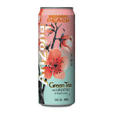 Ari Zona Green Tea with Ginseng &Peach Juice(680ml)