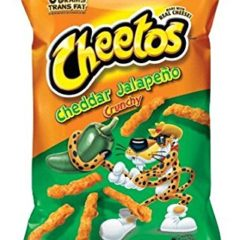 Cheetos Cheddar Jalapeno Crunchy 8OZ (226.8G) – BIG BAG