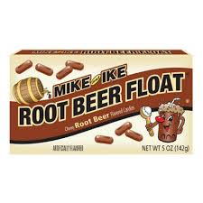 Mike and ike root beer float (114g)