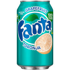 Fanta Grapefruit Toronja (355ml)