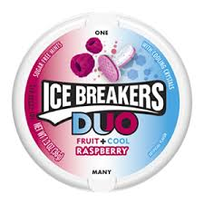 Ice Breakers Duo Fruit+Cool Raspberry