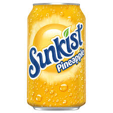 Sunkist Pineapple (355ml)