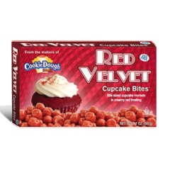 Cookie Dough Red Velvet Cupcake Bites (88g)