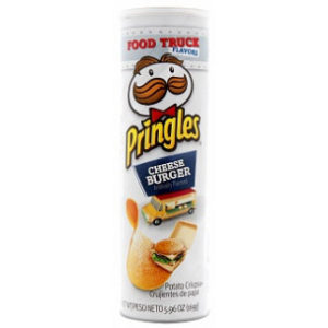 Pringles Cheese Burger (158g)