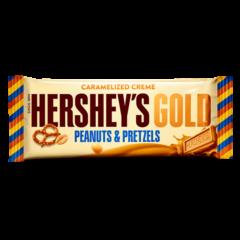 Hersheys Gold Peanut & Pretzels