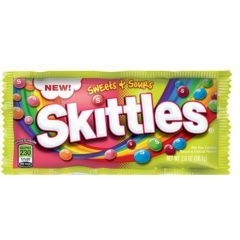 Skittles Sweet & Sour 2.0 OZ ( 56.7g )
