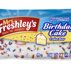 Mrs Freshleys Birthday Cake 2.7 OZ ( 77g )