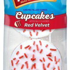 Mrs Freshleys cupcakes Red velvet 4 OZ ( 113 )