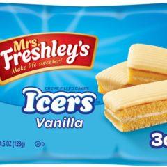 Mrs Freshleys Creme Filled Cakes Icers Vanilla