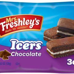Mrs Freshleys Creme Filled Cakes Icers Chocolate 4.5 OZ ( 128g )