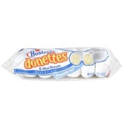 Hostess Donettes 6 Mini Dounuts 3 OZ (  85g )