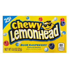 Chewy LemonHead Blue RassBerry 0.8 OZ ( 23g )