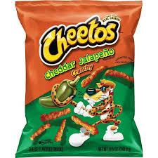 Cheetos Cheddar Jalapeno Crunchy 2 OZ ( 56.7g )