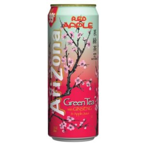 Arizona Red Apple – Green Tea with Ginseng & Red Apple Can 680ml