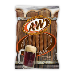 A&W Root Beer Twists 141g