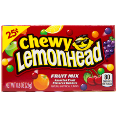 Chewy Lemonhead Assorted Fruit Mix 22g