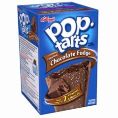 Kellogg's Pop Tarts Grocery Pack Frstd Chocolate Fudge 396g