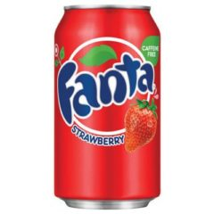 Fanta Strawberry Can 355ml