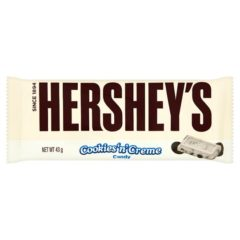 Hershey's Cookies and Cream Chocolate Bar 43g
