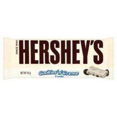 Hershey's Cookies and Cream Chocolate Bar 43g