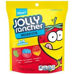 Jolly Rancher Misfits 2 in 1 gummy 226g