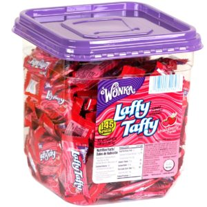 Laffy Taffy Cherry Mini's 145ct Tub