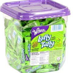 Laffy Taffy Sour Apple Mini's 145ct Tub