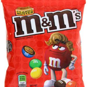 M&M Peanut Butter Peg Bag