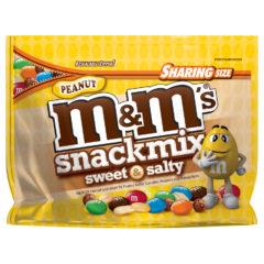M&M's Sweet & Salty Peanut Snack Mix